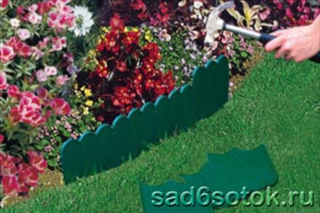 Защита кромок газона