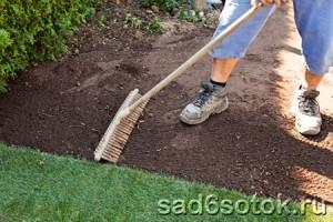 Подготовка участка под новый газон
