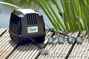 Оборудование для здоровья вашего пруда: насосы, фильтры, скиммеры, аэраторы