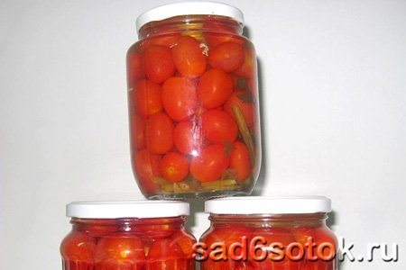 Заготовки из помидор